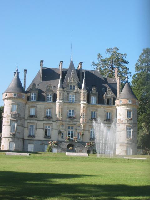 chateau at Bagnoles de l'orne