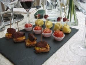 French petit cakes