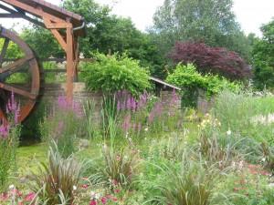 ornamental waterwheel garden